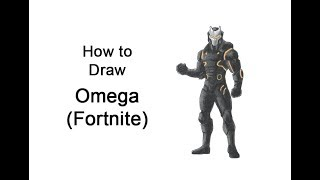 How to Draw Omega from Fortnite