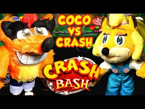 ABM: Crash Vs Coco !! CRASH BASH!! Gameplay Match!! ᴴᴰ