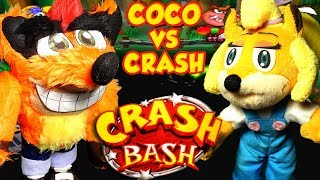 ABM: Crash Vs Coco !! CRASH BASH!! Gameplay Match!! ᴴᴰ
