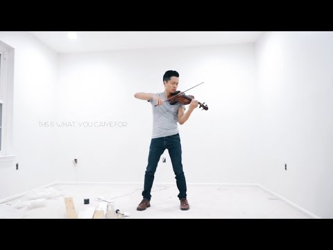 This Is What You Came For - Calvin Harris - Violin cover by Daniel Jang