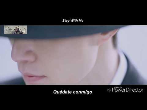 2nd Version Stay with me Goblin ost Chanyeol & Punch lyrics+sub.Español