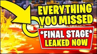 EVERYTHING YOU MISSED - FORTNITE DIGGING EVENT *FINAL LEAKED* (Fortnite Season 8 Digg Site Event)