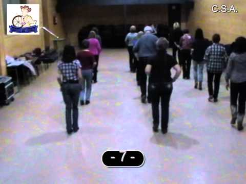 I TOLD YA SO - Country & Linedance (Teach & Dance) -- Instructional Video