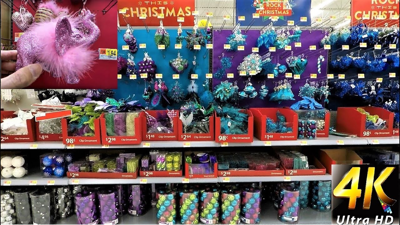 christmas at walmart entire ornament section christmas ornaments christmas shopping decorations
