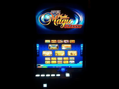 APEX MULTI MAGIC CLASSIC FULL TEST / SLOT MACHINE / SLOT TERMINAL / BET TERMINAL