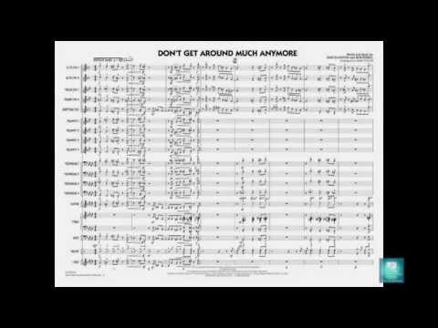 Don't Get Around Much Anymore arranged by Mark Taylor