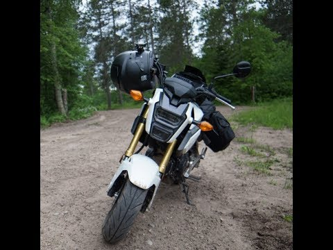 honda grom touring off road in minnesota youtube. Black Bedroom Furniture Sets. Home Design Ideas