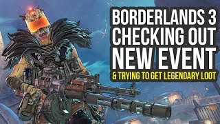 Borderlands 3 DLC - Checking Out The New Mayhem Event & Getting A Lot Of Anointed Loot (BL3 Event)