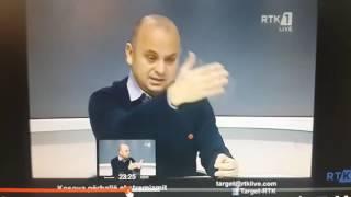 Analisti Imer Mushkolaj fyen Zotin publikisht ne TV!!!
