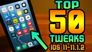 TOP 50 Jailbreak Tweaks! BEST Electra iOS 11-11.1.2 Tweaks Without Cydia iPhone iPad iPod