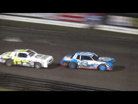 IMCA Stock Car feature Southern Iowa Speedway 4/26/17