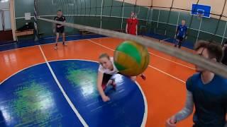 Волейбол от первого лица GoPro 7 Black. Любительский волейбол.