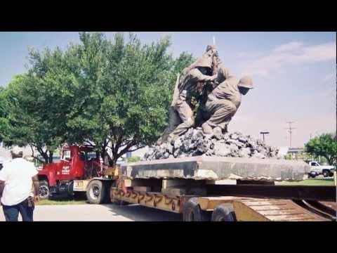Iwo Jima Statue Restored, Cape Coral, FL Monument Restoration
