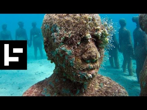 Jason deCaires Taylor is Saving Coral Reefs by Creating Living Art