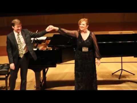 """BEATRIZ GIMENO MEZZOSOPRANO """"LOS CLAVELES"""" con DUNCAN GIFFORD piano"""