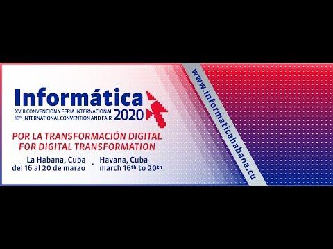 Lanzamiento de Informática 2020 Palacio Central de la Computación, Cuba.
