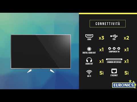 Panasonic | TV LED 4K HDR Smart | TX-55EX613
