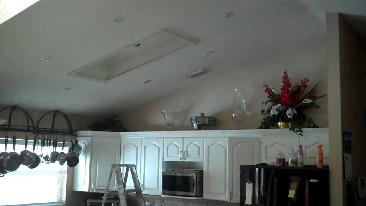 recessed kitchen lighting facets project youtube