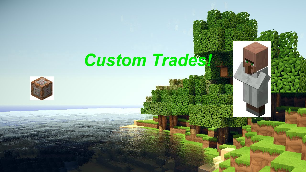how to make a villager with custom trades