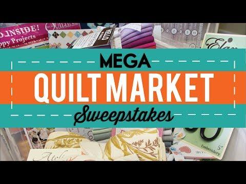 2014 Mega Quilt Market Sweepstakes - Fat Quarter Shop