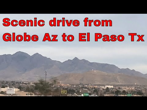 Globe AZ to El Paso TX
