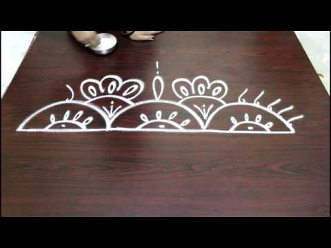freehand border designs-rangoli designs-border designs-easy border designs-simple border designsr-