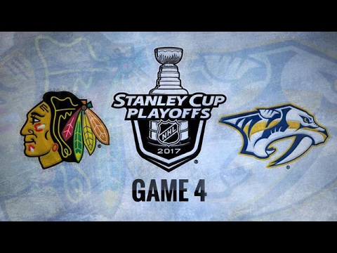 CHICAGO BLACKHAWKS VS NASHVILLE PREDATORS R1 GAME 4  HIGHLIGHTS 4/20