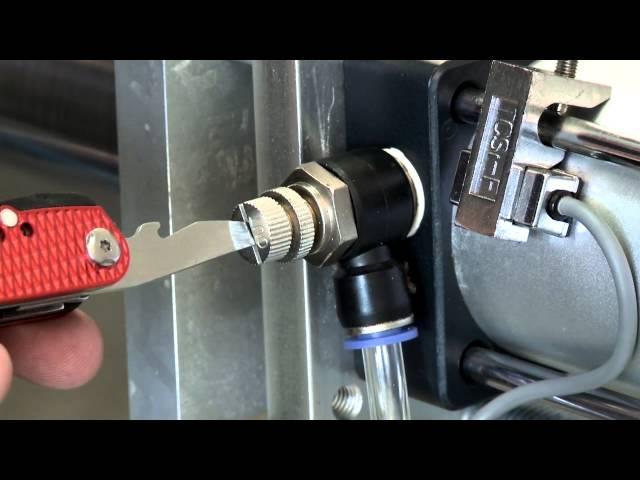 Piston Filler Adjustment