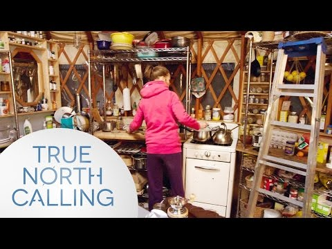 Living Off The Land: Life in a 314 Square Foot Yurt | True North Calling - Full Episode 2