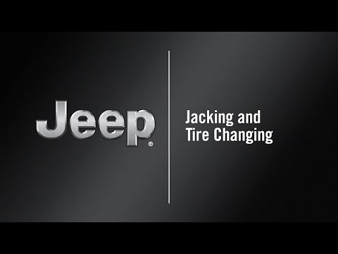 Jacking And Tire Changing   How To   2020 Jeep Cherokee