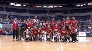 Ring Ceremony: 2015 PBA Philippine Cup Champions