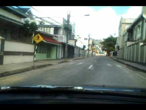 Port of Spain tour to Abercromby and Frederick Streets YouTube