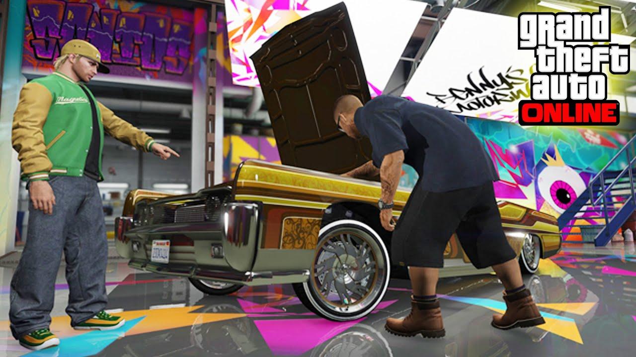 Grand Theft Auto Wallpaper Girl Nuevo Dlc Gta Online Lowriders Nuevos Tuneados