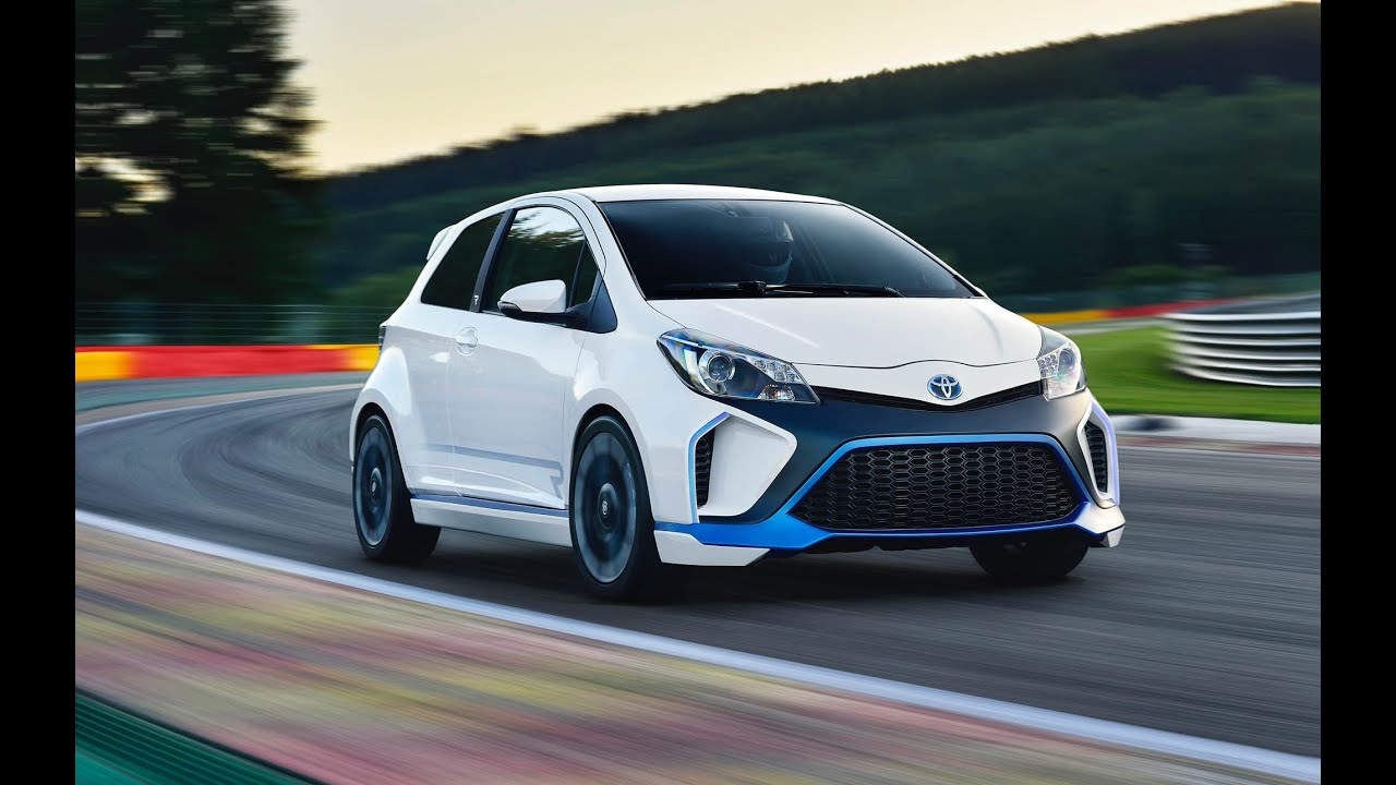 420 hp awd toyota yaris hybrid r concept youtube. Black Bedroom Furniture Sets. Home Design Ideas