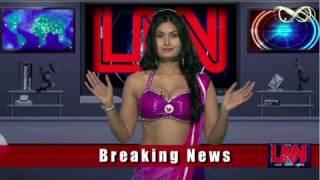 Repeat youtube video Twin peaks : Savita bhabhi strips Barkha Dutt in LNN