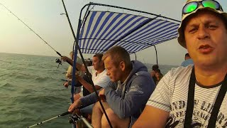 Морская рыбалка на искуственные приманки от Михалыча. Черное море. Затока. Днестровская банка(Супер уловистая удочка на карпа и карася. Боковые кивки, мормышки, квоки. Заказываем здесь http://mikhalych.com/ Розыг..., 2015-08-04T13:33:34.000Z)