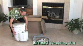 Airhead Composting Toilet - What's In The Box?