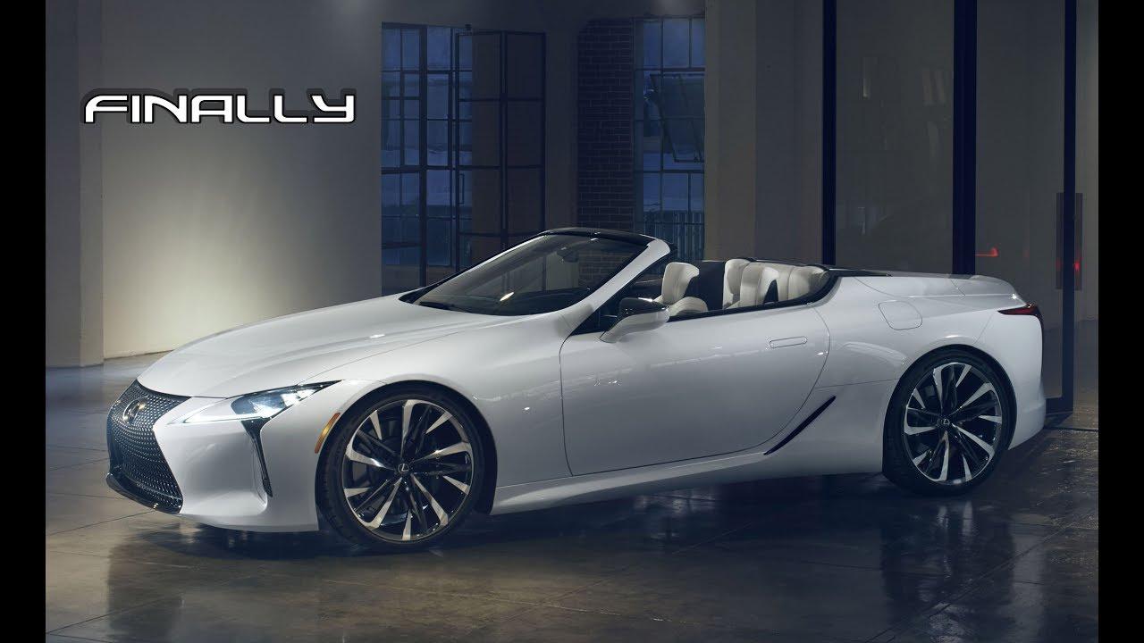 2020 lexus lc 500 convertible debut