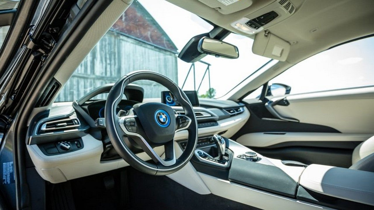 wow 2017 bmw i8 interior sportscar youtube. Black Bedroom Furniture Sets. Home Design Ideas