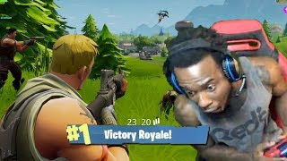 HOW TO WIN IN FORNITE DUO'S WITH TWO IDOITS! FORTNITE RAGE AND FUNNY MOMENTS