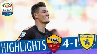 Roma - Chievo 4-1 - Highlights - Giornata 35 - Serie A TIM 2017/18