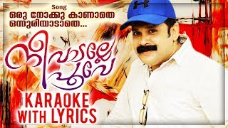 Oru Nokku Kanathe Karaoke With Lyrics | Nee Vadalle Poove | Thajudheen Vadakara | Album Karaoke