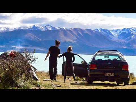 Traveling New Zealand - Freedom Camping Lake Pukaki