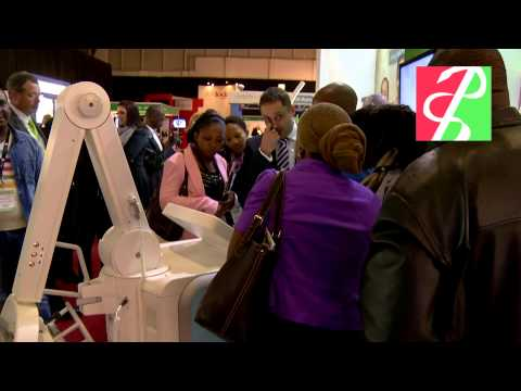 Africa Health Exhibition 2013   Day 1 show highlights