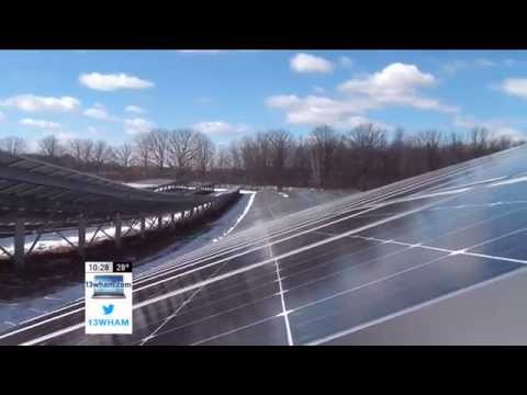 RIT on TV: Turning a sunny field into electric power