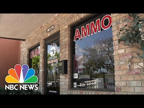 Gun Store Owner's Attorney Says 'No Red Flags' When Nikolas Cruz Bought AR-15 | NBC News