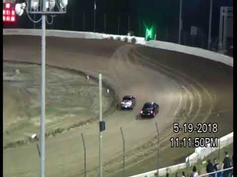 5-19-18  PLYMOUTH SPEEDWAY, IN   SPECTATOR RACES