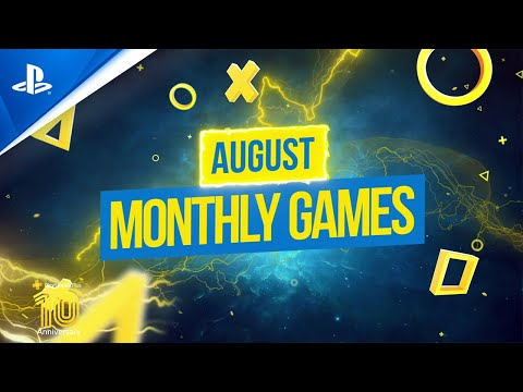 PS Plus August 2020   Fall Guys: Ultimate Knockout + COD Modern Warfare 2 Campaign Remastered