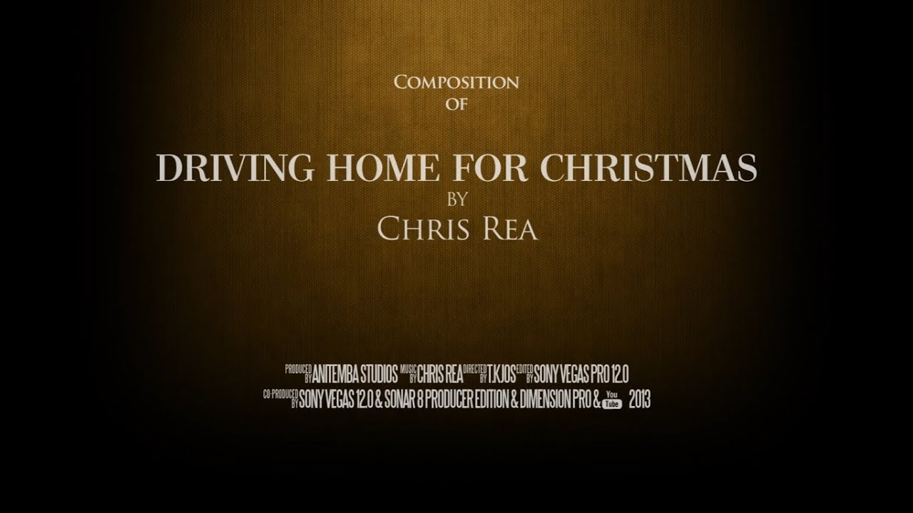 Driving Home For Christmas by Chris Rea (Composition) - YouTube