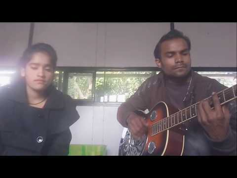 | Kitabein bahut si | duets live guitar  cover | pushkar singh | sita dhiman |chords in the descrip.